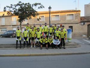 El Club antes de salir a la Javierada 2014